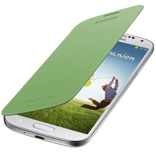 Samsung Galaxy S4 Flip Cover Green