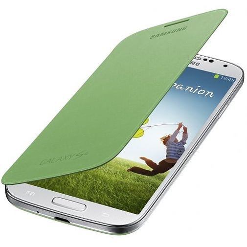 Samsung Galaxy S4 Mini Flip cover Green