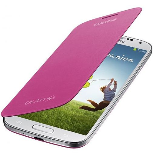 Samsung Galaxy S4 Mini Flip Cover Pink