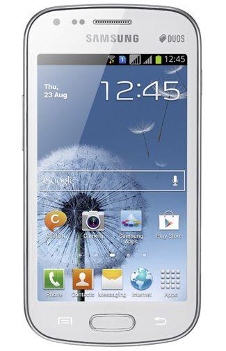 Samsung Galaxy S Duos S7562 White La Fleur
