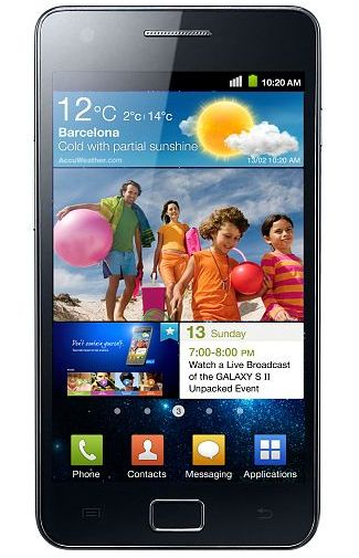 Samsung Galaxy S II i9100 Black