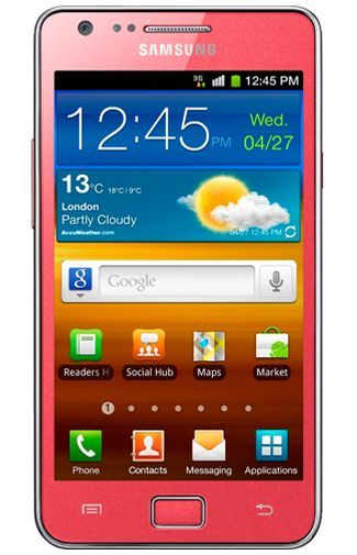 Samsung Galaxy S II i9100 Pink