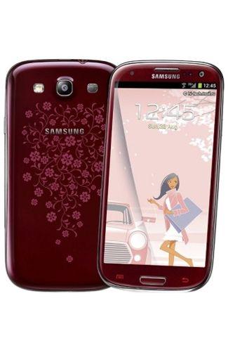 Samsung Galaxy S3 i9300 Red La Fleur