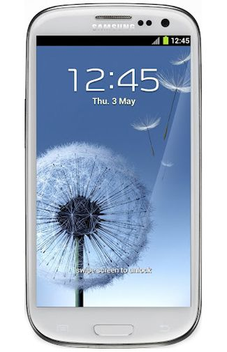 Samsung Galaxy S3 i9300 White La Fleur