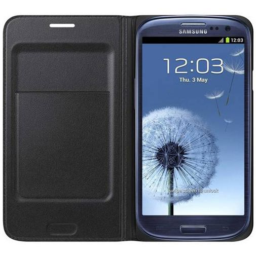 samsung galaxy s3 neo flip wallet black. Black Bedroom Furniture Sets. Home Design Ideas