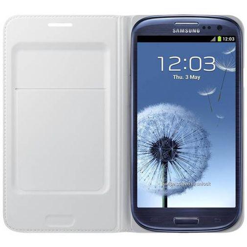 Samsung Galaxy S3 (Neo) Flip Wallet White