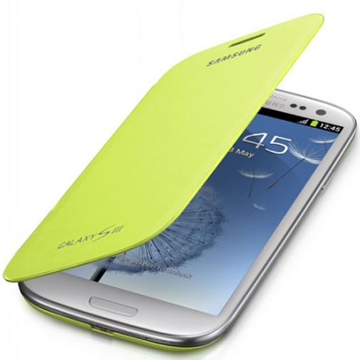 Productafbeelding van de Samsung Galaxy S3 Mini (VE) Flip Cover Mint Green