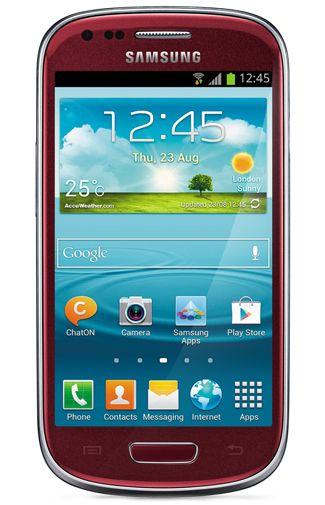 Samsung Galaxy S3 Mini i8190 Red