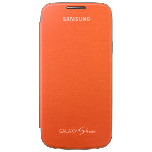 Samsung Galaxy S4 Mini Flip Cover Orange