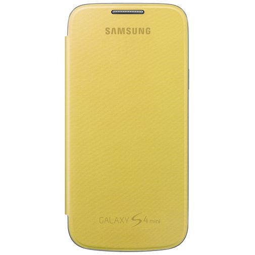 Productafbeelding van de Samsung Galaxy S4 Mini (VE) Flip Cover Yellow