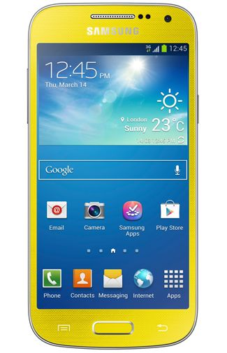 Samsung Galaxy S4 Mini i9195 Yellow