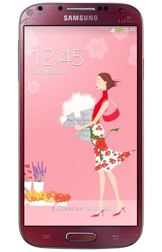 Samsung Galaxy S4 i9505 Red La Fleur