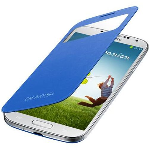 Samsung Galaxy S4 S-View Cover Light Blue