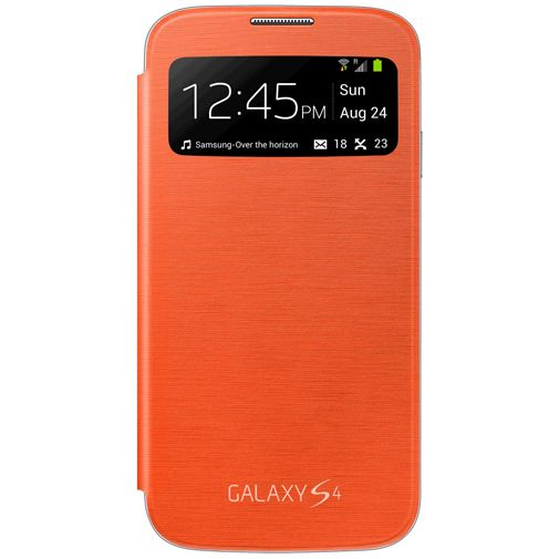 Samsung Galaxy S4 S-View Cover Orange
