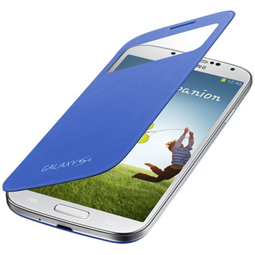 Samsung Galaxy S4 S-View Cover Rigel Blue