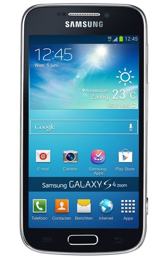 Samsung Galaxy S4 Zoom SM-C1010 Black