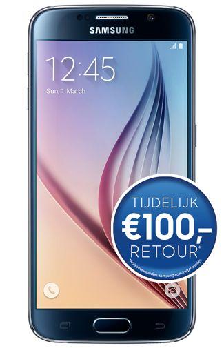 Afbeelding van Samsung Galaxy S6 128GB G920F Black + 0 min + Onbeperkt SMS