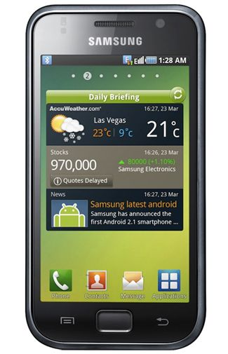 Samsung Galaxy SL i9003 Black Brown