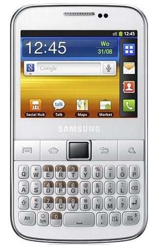 Samsung Galaxy TXT 3MP B5510 White