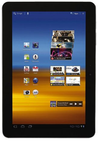Productafbeelding Samsung Galaxy Tab 10.1 P7500 16GB 3G White