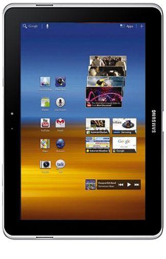 Productafbeelding van de Samsung Galaxy Tab 10.1n P7501 16GB 3G White