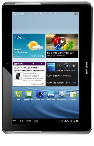 Productafbeelding Samsung Galaxy Tab 2 10.1 P5110 WiFi Silver