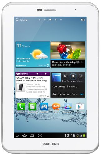 Productafbeelding Samsung Galaxy Tab 2 7.0 P3100 WiFi + 3G White