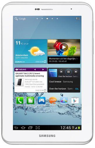 Samsung Galaxy Tab 2 7.0 P3100 WiFi + 3G White