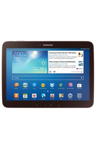 Productafbeelding Samsung Galaxy Tab 3 10.1 P5210 WiFi Gold Brown