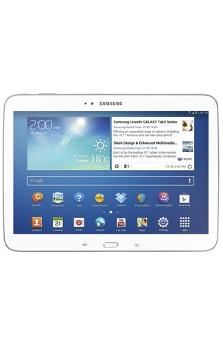 Productafbeelding Samsung Galaxy Tab 3 10.1 P5210 WiFi White