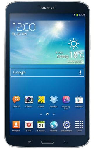 Productafbeelding Samsung Galaxy Tab 3 8.0 T3100 WiFi 16GB Black