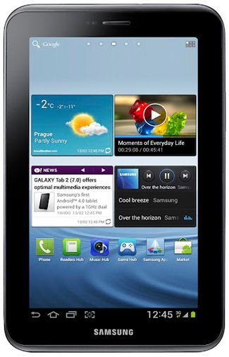 Productafbeelding van de Samsung Galaxy Tab 7.0