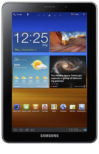 Productafbeelding Samsung Galaxy Tab 7.7 P6800 3G Black