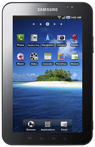 Samsung Galaxy Tab P1000 Black