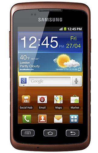 Samsung Galaxy Xcover S5690 Black Orange