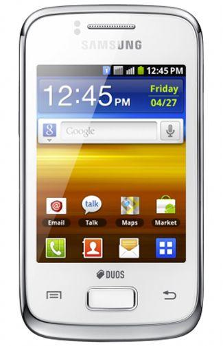Samsung Galaxy Y DuoSim S6102 White