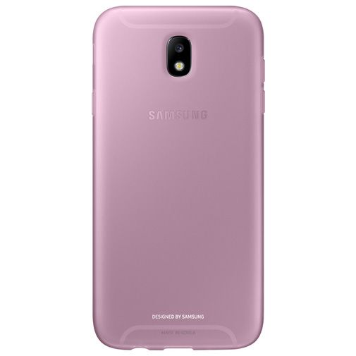 Samsung Jelly Cover Pink Galaxy J7 (2017)