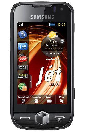Samsung Jet S8000 Black + Navigatie