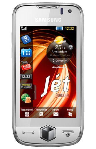 Samsung Jet S8000 White + Navigatie