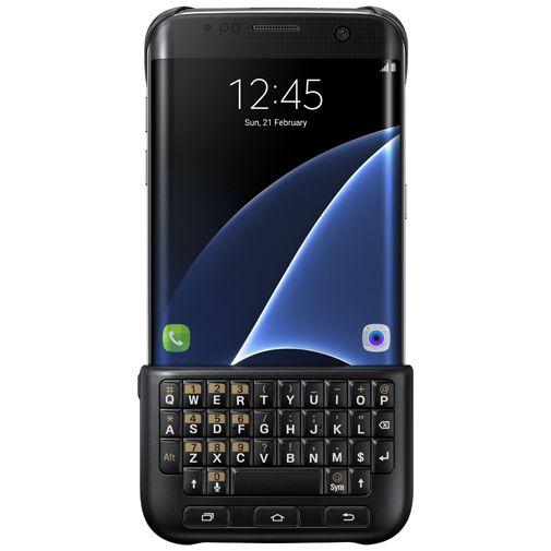 Samsung Keyboard Cover Black Galaxy S7 Edge