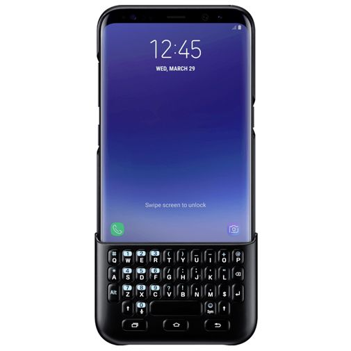 Samsung Keyboard Cover Black Galaxy S8+