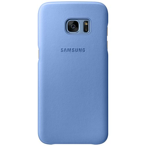 Samsung Leather Cover Blue Galaxy S7 Edge