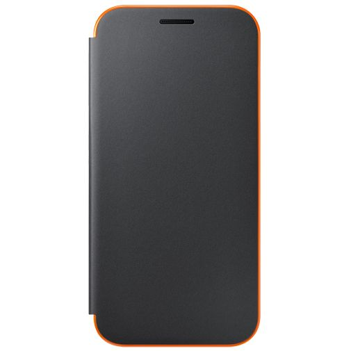 Samsung Neon Flip Cover Black Galaxy A3 (2017)