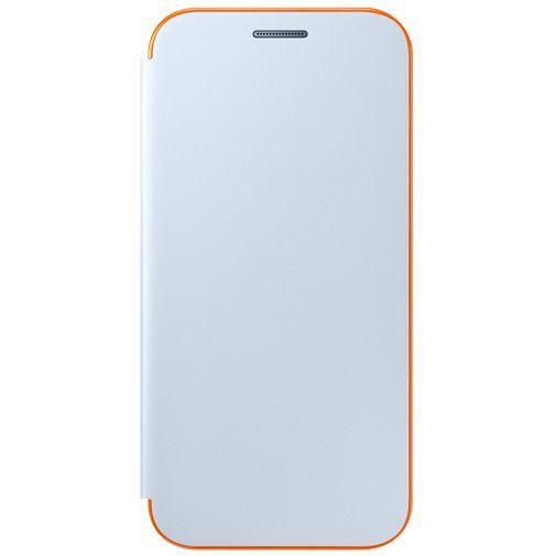 Samsung Neon Flip Cover Blue Galaxy A3 (2017)