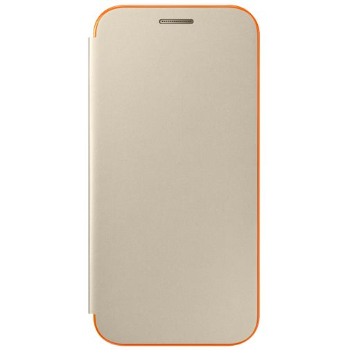 Samsung Neon Flip Cover Gold Galaxy A3 (2017)