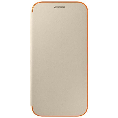 Samsung Neon Flip Cover Gold Galaxy A5 (2017)