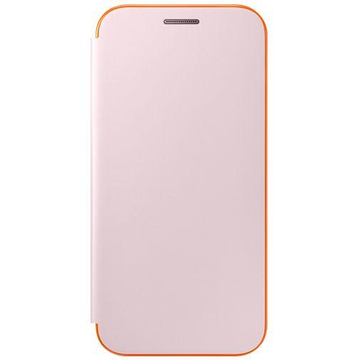 Samsung Neon Flip Cover Pink Galaxy A3 (2017)