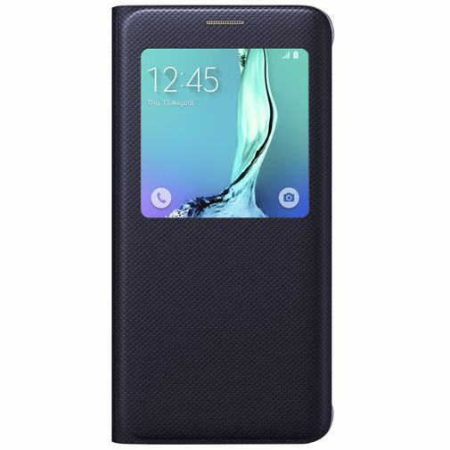 Samsung S View Cover Blue Black Galaxy S6 Edge Plus