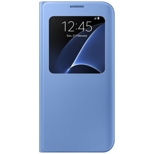 Samsung S View Cover Blue Galaxy S7 Edge