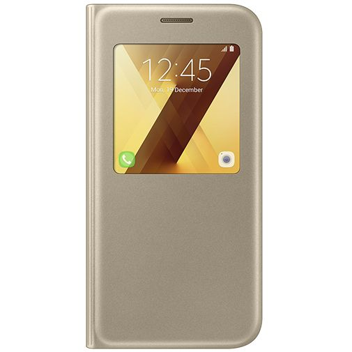 Samsung S View Cover Gold Galaxy A5 (2017)